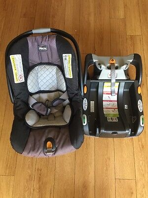 Local Pick Up Only! Chicco Keyfit 30 Car Seat And Base Expires Feb 2022.