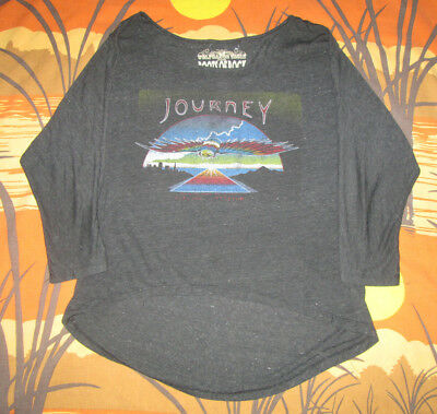 vtg JOURNEY t-shirt ROCK BAND CONCERT TOUR small MUST SEE