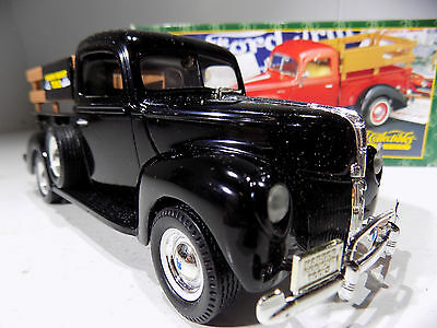 ERTL PRESTIGE Series 1940 BLACK  FORD PICK UP HARBOR FREIGHT Edition