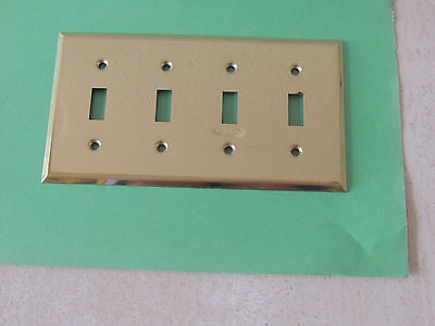 Brass Switch Wall Plates Cover Lighting  USE
