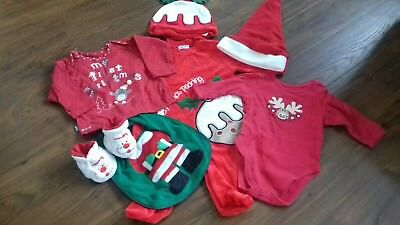 baby christmas bundle size 3-6 months