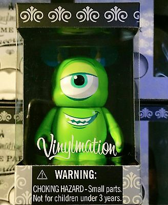 "Disney Vinylmation 3"" Theme Park Favorites Mike Wazowski 2015 Monster's Inc Toy"