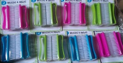 Lot revendeur 29 lots de 2 brosses à ongle
