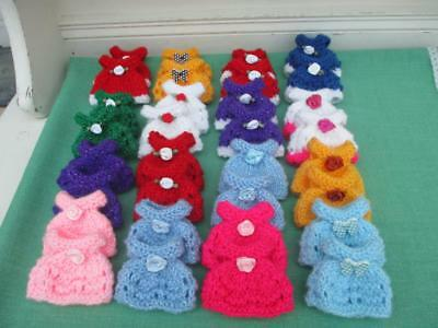 Hand knitted Clothes Dress Sylvanian Mum VARIOUS COLOURS Your Choice