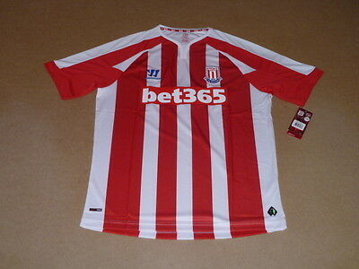 Trikot STOKE CITY Home 2014-15, Warrior, XL, neu, ovp