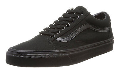 Vans Old Skool Classic Black Black Mens Sneakers Tennis Shoes