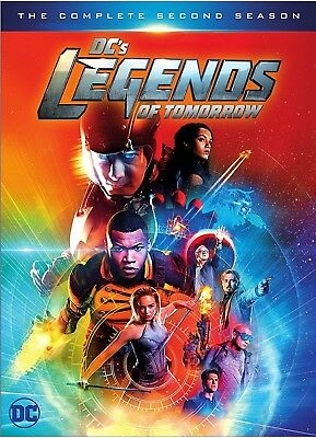 DCs Legends of Tomorrow The Second Season Two 2 DVD (4-Disc 2017) USA SELLER