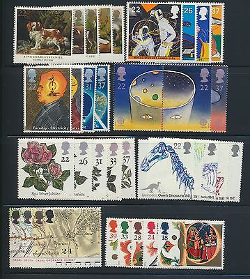 GB 1991 Commemorative Complete Year MNH
