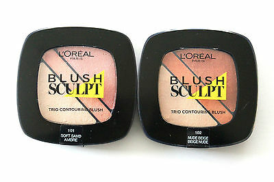 L'Oreal Paris Blush Sculpt Trio Contouring Blush - Please Choose Shade: