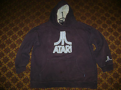 Vintage, very heavy-duty Atari hoodie sweatshirt - Men's M or L Medium or Large