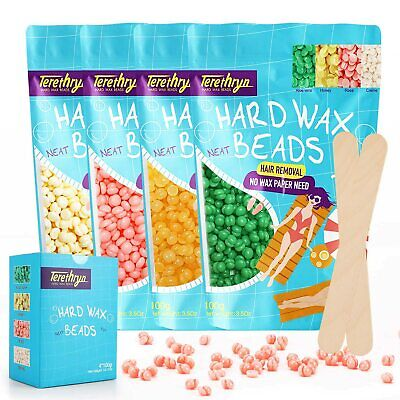 Easy Body Hair Removal Hard Wax Beans Full Body Depilatory Wax Beads Painless