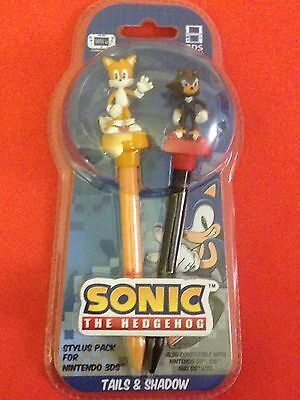 Sonic The Hedgehog Tails & Shadow Stylus For 3DS
