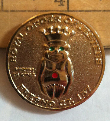 Royal Order of Jesters 2007 Coin Fresno Court 157