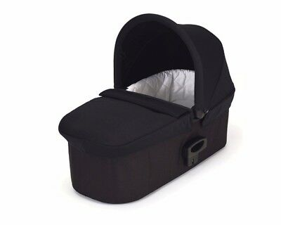 Baby Jogger Deluxe Quilted Pram Carrycot with Sun Visor - Black