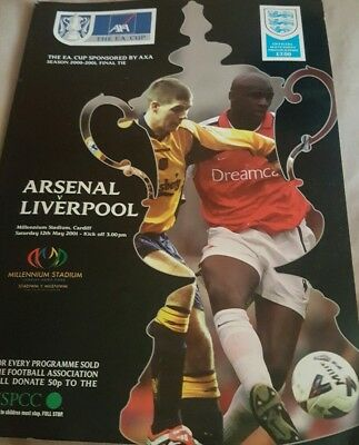 2001 Fa Cup Final Programme *(Liverpool V Arsenal)* (12/05/2001)