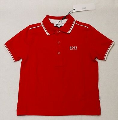 New With Tag HUGO BOSS Boy 3 Years 94cm Polo T-shirt Top