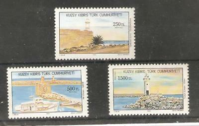1991   Cyprus  -  Sg  322 / 324  - Lighthouses   -  Umm