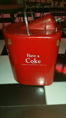 Vintage coke stadium cooler dispenser