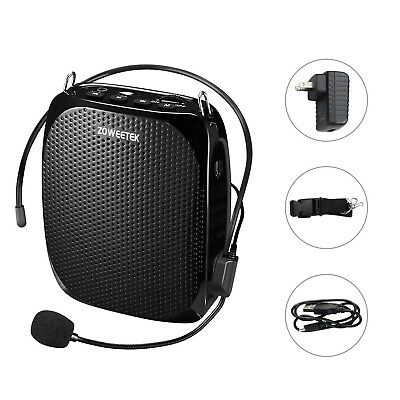 Zoweetek Portable Rechargeable Mini Voice Amplifier With Wired Mi... SHIPS FREE!