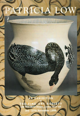 PATRICIA LOW Exhibition Catalogue 1998, David Inshaw, RARE (Animal Pottery)