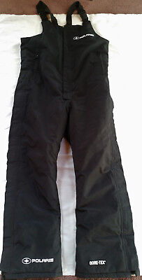 Polaris OEM Men's Black Snowmobile Gore-Tex  Bib Pants Thermolite+ Insulated M