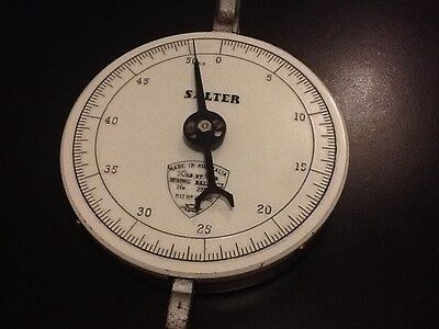 Vintage Salter spring balance -calibrated in Pounds