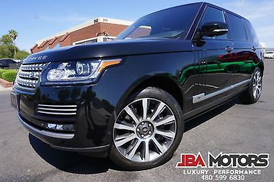 2014 Land Rover Range Rover 2014 Range Rover Supercharged Autobiography LWB Long WB upercharged Autobiography LWB Long Wheel Base like 10 2011 2012 2013 2015 2016