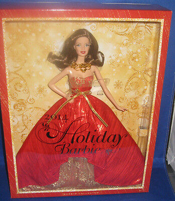 Holiday Barbie 2014 Kmart Exclusive (Auburn) Barbie Collector Doll Mint