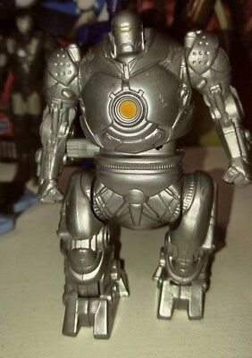 Burger King IRON MAN kids meal toy MARVEL 2007  Wind up & Walk