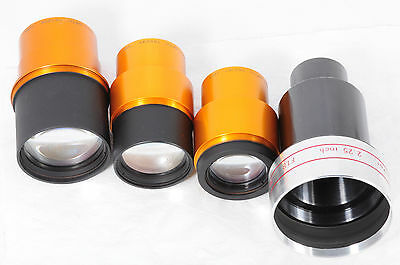 Lot 4 Projection lenses Isco Ultra Star 85mm 80mm & 65mm & Sankor 57mm f/1.8 208