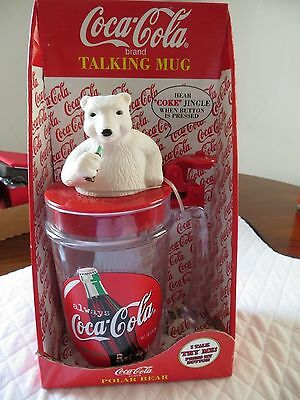 Coca - Cola Polar Bear Talking Mug