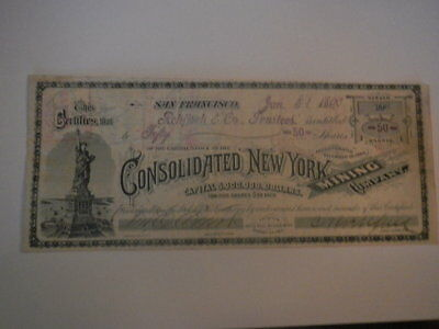 Consolidated New York  Mining Company # 2508
