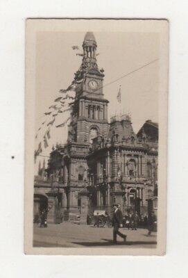 Town Hall Sydney cigarette card