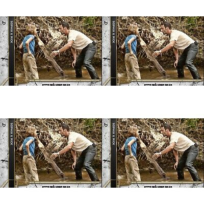 4x COME WHAT MAY CONCRETE WAVE 3 SOPHIA & RICK Walking Dead Card Trader Digital