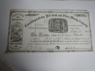 2 Consolidated Cedar Hill Gold And Silver Mining Company  # 93 & # 94