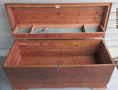 Large Vintage Lane Cedar CHEST Made in Altavista, Va.