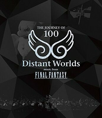 Distant Worlds: music from FINAL FANTASY THE JOURNEY OF 100 [Blu-ray] Japan F/S