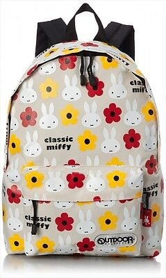 NEW OUTDOOR PRODUCTS OUTDOOR & Classic Miffy Daypack Backpack M Beige Japan F/S