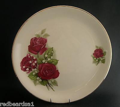 Swinnertons Vintage China Dinner Cake Plate Nestor Vellum Bridesmaid c1940s
