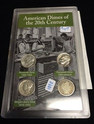 American Dimes Of The 20Th Century CB