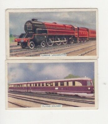 Train cigarette cards 1936