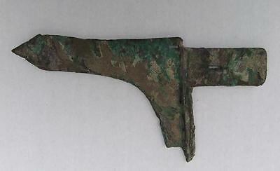 Ancient Chinese Bronze Ge Dagger-Axe Blade sword Eastern Zhou 770-476 B.C.