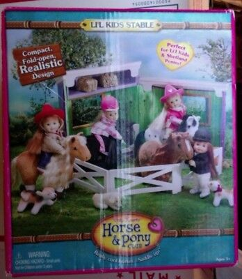 Only Hearts Horse & Pony Club LI'L KIDS STABLE