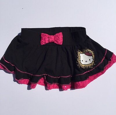 Clothing, Shoes & Accessories Girls' Clothing (newborn-5t) Hello Kitty Bubble Mini Skirt With Attached Leggins Girls Size 3t