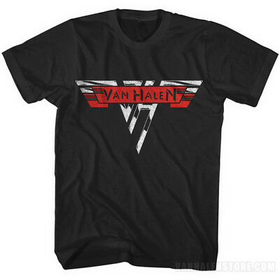 Van Halen Vintage Logo Shirt - Retro Style - Sizes L, XL, 2XL, New Official 1978