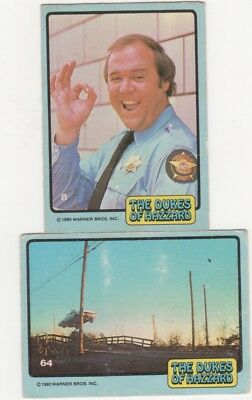 Scanlens Cards Dukes of Hazard