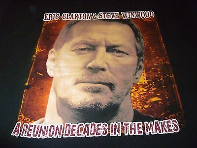 Eric Clapton & Steve Winwood Shirt ( Used Size 2XL ) Very Good Condition!!!