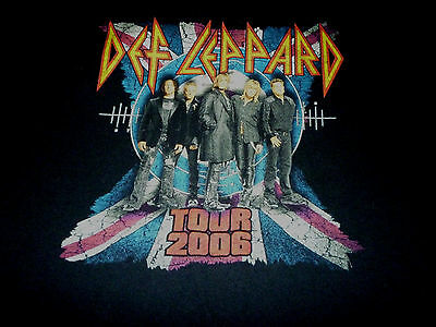 Def Leppard 2006 Tour Shirt ( used Size L ) Nice Condition!!!