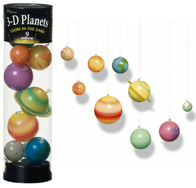 3D Planets - Glow In The Dark