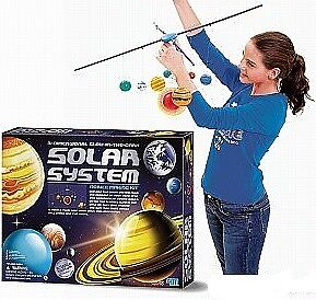 Large Solar System Mobile Kit - 3D Glow In The Dark